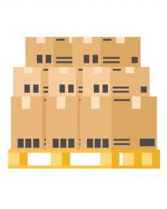 Toimitusten  yli 150kg paketeille tai suurelle tavaralle 1 Euro tai FIN lava :